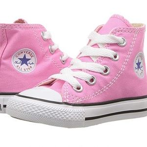 Converse - All Star Core Pink High Top - toddler